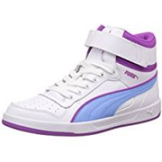 Buy Puma Girl's Puma Liza Mid Jr Leather Sneakers from Amazon
