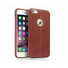 Buy SeCro iPhone 7 Case, Vorson Luxury PU Leather iPhone 7 (4.7 Inches) Back Cover High Quality Top Leather PU Case [ BROWN ] from Amazon