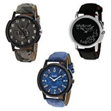 Relish Analogue Multi-Colour Dial Men's Watch RELISH-945C for Rs. 419