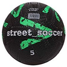 Buy Vector X Street Soccer Rubber Moulded Football, Size 5 (Green/Black) from Amazon