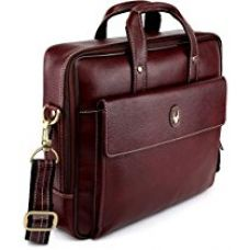 Buy Wildhorn 100% Genuine Leather 14 Inch Laptop Messenger Bag from Amazon