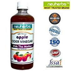 Buy Neuherbs Apple Cider Vinegar with the Mother - 350ml , Unfiltered & Undiluted from Amazon