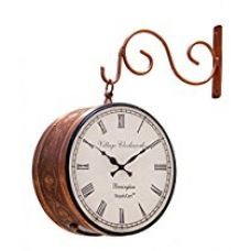 RoyalsCart Double Sided Railway Station/Platform Analog Wall Clock for Rs. 1,099