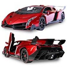 Buy Toyshine 1:16 Lamborgini Veneno Remote Car, Opening Doors (Rechargeable) from Amazon
