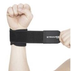 Buy Strauss Wrist Support, Free Size (Black) from Amazon