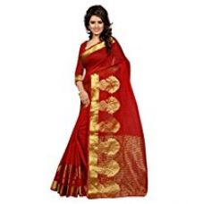 Buy Stutti Fashion Cotton Silk Saree (Sfs1545_Red_Red) from Amazon