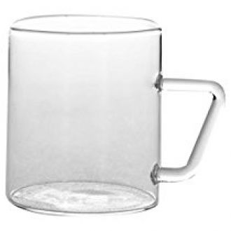 Borosil Vision Classic Mug Set, 190ml, Set of 6, Transparent for Rs. 340