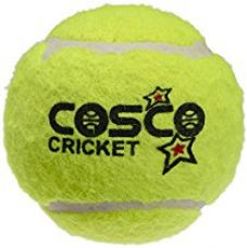 Buy Cosco Light Weight Cricket Ball, Pack of 6 (Yellow) from Amazon