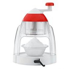 Buy Ganesh Plastic Ice Snow Maker Set, 8 Pieces, Red from Amazon