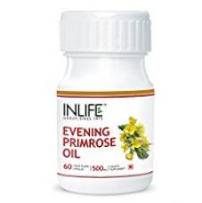 INLIFE Evening Primrose Oil Extra Virgin Cold Pressed, 500 mg - 60 Capsules for Rs. 702