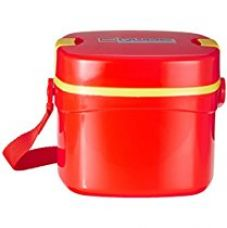 Cello Qube Plastic Container, 1.25 Litres, Red for Rs. 244