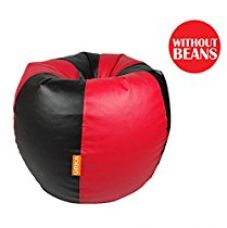 Buy Orka XL Bean Bag Cover - Red and Black (With out Beans) from Amazon