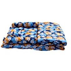 Amardeep and Co Baby Mattress with Quilt - Floral (Blue) - MT-03-Blue-Floral for Rs. 1,567