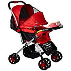 Buy Sunbaby Jigsaw Stroller (Red) from Amazon