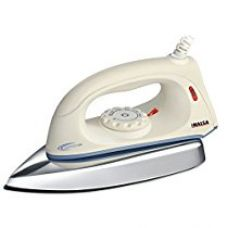 Inalsa Gemini 1000-Watt Electric Dry Iron (White/Blue) for Rs. 534