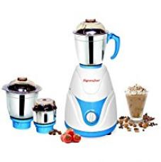 Buy Signora Care Eco Plus 500-Watt Mixer Grinder with 3 Jars (White) from Amazon