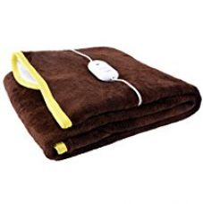 Warmland Single Bed Electric Bed Warmer - Brown for Rs. 799