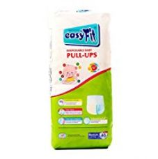 Buy Easyfit Disposable Baby Pullup Medium Diaper (40 Pieces) from Amazon