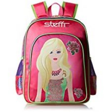 Simba 14 inches Pink Children's Backpack (BTS-2088) for Rs. 1,249