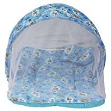 Buy Amardeep and Co Toddler Mattress with Mosquito Net (Blue) - MT-01nb from Amazon