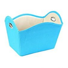 My Gift Booth Nylon Towel Basket, Sky Blue for Rs. 425