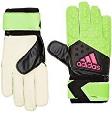 Buy Adidas AH7808-4 Ace Training Gloves, Size 4 (Green/Black/Pink/White) from Amazon