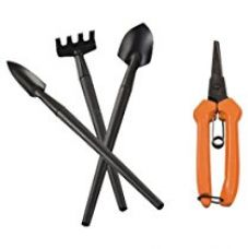 Falcon FGBT-1234 4-Piece Steel Mini Garden Tool Set (Multicolor) for Rs. 410