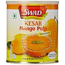 Swad Kesar Mango Pulp Sweetened, 850g for Rs. 113