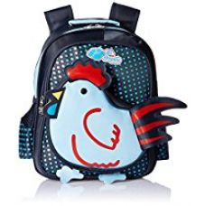 Buy Albert and James Junior Synthetic Blue School Bag from Amazon