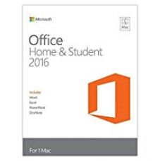 Buy Microsoft Office Home and Student 2016 - MAC - No Media/ DVD - Product Key Inside (Word, Excel, PowerPoint, OneNote) for 1 MAC laptop from Amazon