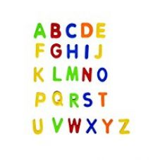 Buy Toyshine Magnetic Learning Magnetic Alphabets (Capital and Small Letters) from Amazon
