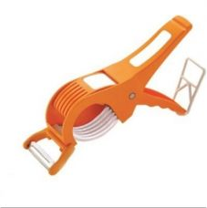 Buy VR Deluxe Vegetable Cutter with peeler Chopper(Orange) from Paytm