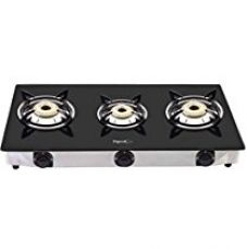Buy Pigeon Favourite 3 Burner Black Line Cook Top stove from Amazon