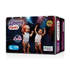Buy Libero Large Size Diaper Pants (18 Counts) from Amazon