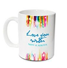Hot Muggs Love You Sister Ceramic Mug, 350ml for Rs. 255