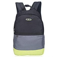 Buy Cosmus Navy Blue & T Blue Polyester 24Litres Casual Backpack from Amazon