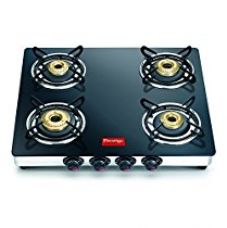 Prestige Marvel Glass Top Gas Table, 4 Burner (GTM 04 SS) for Rs. 6,550