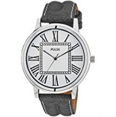 Buy Pulse Analog White Dial Men's Watch - PL0605 from Amazon