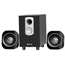 Buy Flow Atom 2.1 Multimedia Speaker System fPC Laptop With Pure Wood Woofer from Amazon