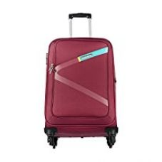 Buy Safari Polyester 54.5 cms Red Softsided Carry-On (Greater) from Amazon