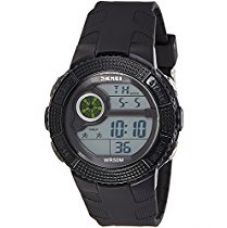 Skmei Digital Black Dial Unisex Watch - 1027BB for Rs. 945