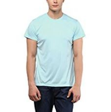 American Crew Round Neck Sports Sky Blue T-Shirt - S (AC422-S) for Rs. 249