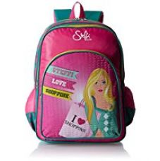 Buy Simba 18 inches Pink and Blue Children's Backpack (IBTS-1258) from Amazon