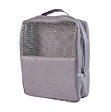 Buy My Gift Booth Nylon Gym-Shoe Bag, Grey from Amazon