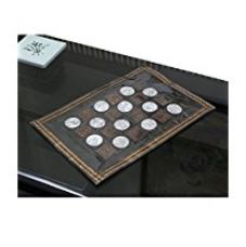 Buy Kuber Industries™ Dining Table Place Mats Set of 6 Pcs in laminated Patch Design from Amazon