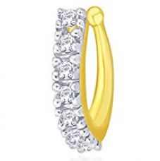 Buy Peora Gold Plated Classic Nose Pin for Women (PFDNP111) from Amazon