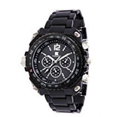 IIK Collection Analogue Round Black Dial MEN's Watch-IIK035M for Rs. 549