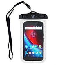 Buy Ceego Waterproof Mobile Case / Pouch - For All Mobiles Up To 6 Inches -Riding In The Rain - Fully Transparent. (Upto 6 Inches) from Amazon