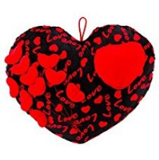 Deals India Love Hearts on heart soft plush - 45 cm(heart4) for Rs. 299