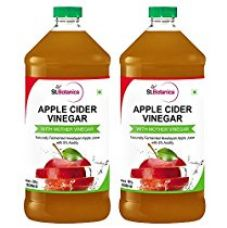 StBotanica Apple Cider Vinegar - 500ml Pack Of 2 - 100% Natural and Pure - #1 Selling for Rs. 599